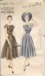 Vintage Vogue 40's Dress 3