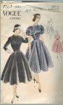 Vintage Vogue 40's Dress 4