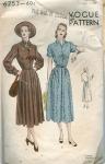 Vintage Vogue 40's dress