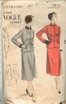 Vintage Vogue 40's Skirt Suit